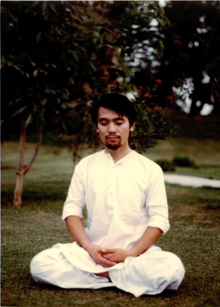 インドで瞑想
