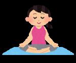 瞑想シーンの図